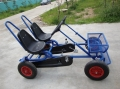 pedal go kart with 2 seat for adults outdoor ride on cart F2150