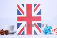 Union Jack UK Flag Folio Leather Case Smart Cover with Stand for ipad Air for ipad 2 3 4