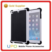 [UPO] High Quality Wholesale 3 in 1 Hybrid Combo Rubber Silicon Back Covers Case for iPad mini 2