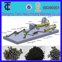 Clay Organic Fertilizer Making Line / Clay Made Fertilizer production line from Lily