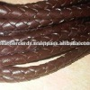 Braided Leather Cord For Color