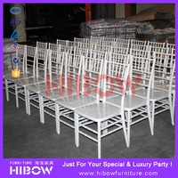 China plastic white wedding sillas chiavari tiffany chair