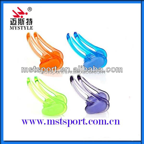 100%silicone comfortable swimming nose clip