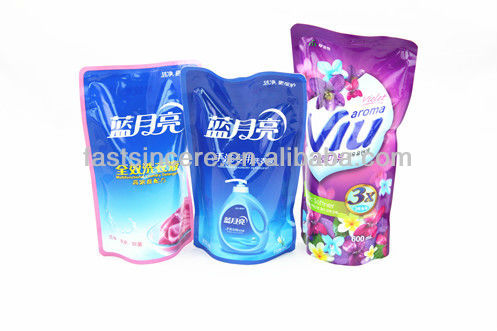 Stand up washing liquid packaging bag Made in Korea net weight 600ML
