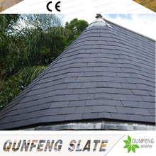 CE Passed Hot Sale Cheap Black Stone Natural Roofing Slate
