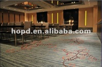 Luxury Axminster floor Carpet for hotel meeting room with fancy design