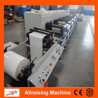 Automatic High Speed Rotary Flexo Label Printing Machine