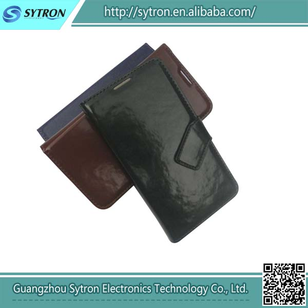 Folio pu leather wallet cover for samsung galaxy s3 flip case