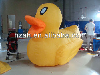 Event Decoration Yellow Hot Inflatable Duck
