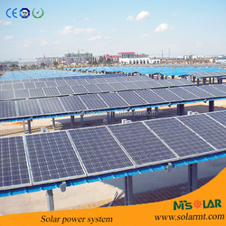 High efficiency polysilicon solar panel with TUV CE ISO & RHOS approved