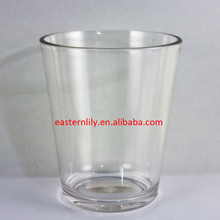 9oz Unbreakable Plastic PC Tritan Whisky glass cup