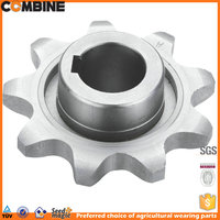 Forged Combine harvester Chain Driven sprocket 670489.1-680582.3-650869.0