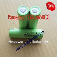 panasonic 18650 CGR18650CG 2200mAh 3.7V batteries cells rechargeable japan product panasonic cgr18650