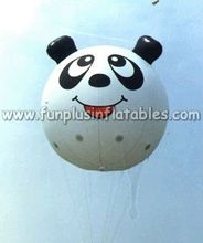 Panda shape small inflatable helium balloons for parade P3102