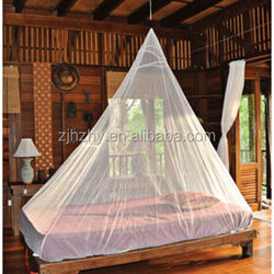 Ridge shaped decorative bed nets for double bed