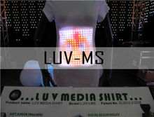 Sound and Music Activated EL Visualizer LED T-shirt