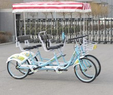 four wheel surrey bike for 2 persons riding M2