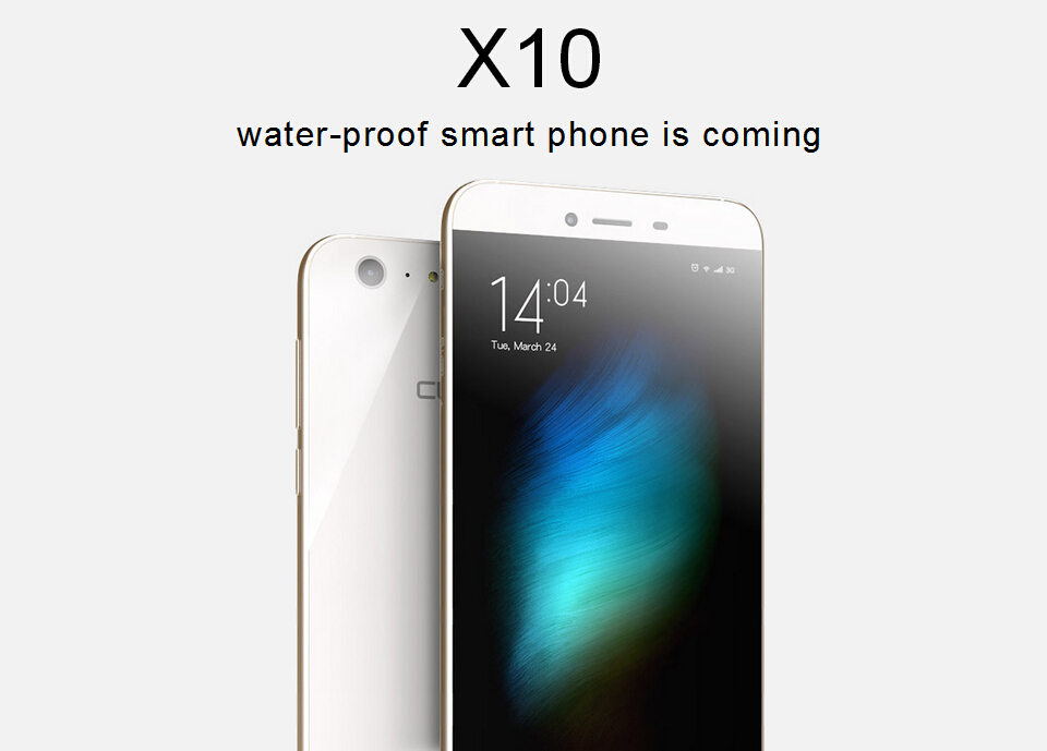 Original CUBOT X10 5.5inch MTK6592M 1.4GHz Octa Core Android 4.4 2GB 16GB IP65 Waterproof Mobile Phone IPS OGS HD 13MP 8MP