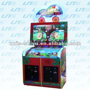 UNIS Pinball machine Apple Frenzy hot in Japan market