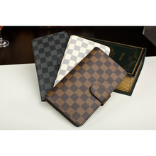 Double sides leather/PU soft hit credit ID card holder Fashion Custom Promotional Cheap Card Holder