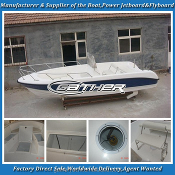Factory supply sport fishing boat