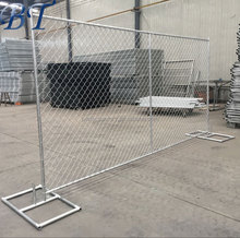 6ft x 10ft construction portable temporary chain link fence panels.