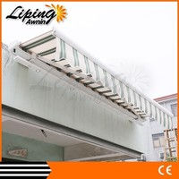 Wrought iron awning , outdoor retractable awningin China