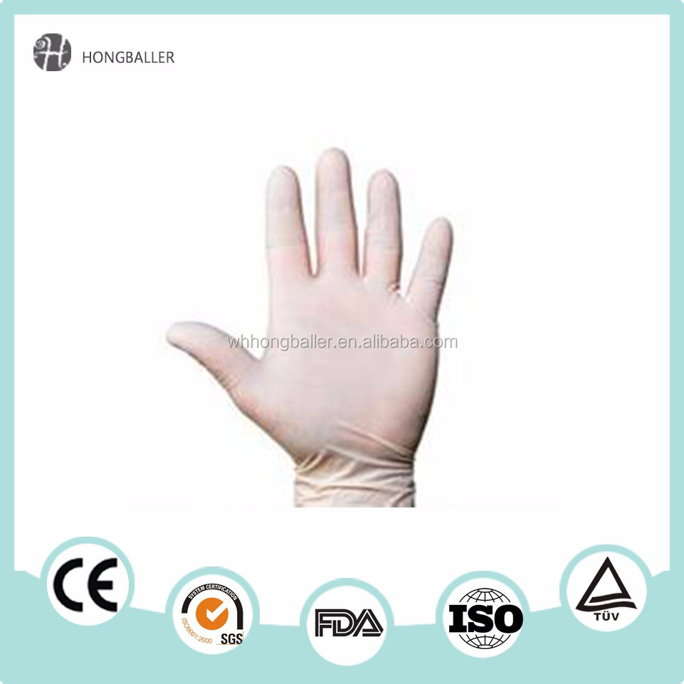 gloves latex medical