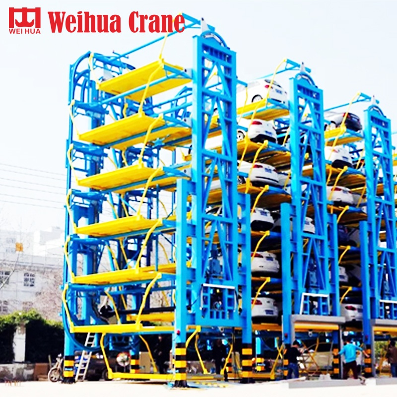 Weihua automated vertical rotary car elevator parking lifting <strong>systems</strong> smart parking equipment