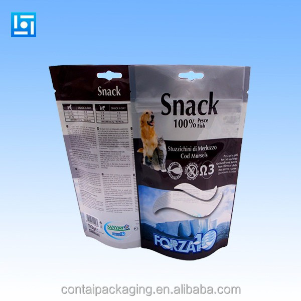 resealable stand up pouch stand up Pet food bag stand up pouches for food packaging
