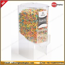 GlowDisplay Acrylic Portion Control Candy Bulk Cereal Dispenser