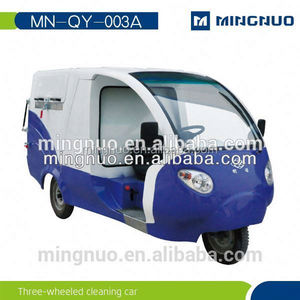 Electric garbage truck, CE approved