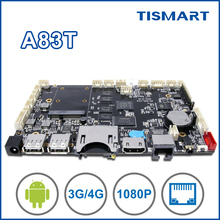 Popular octa core touch screen tablet pc motherboard with wifi GPS LAN bluetooth usb media player board