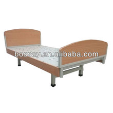Patient bed for Home care made of wooden