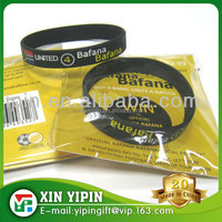 Wholesale World Cup Make Your Own Country flag Rubber Wristband ,Silicone Bracelet