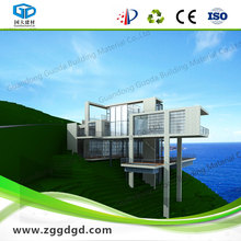 tropical prefabricated house for thermal insolation and grade 11 typhoon resistance