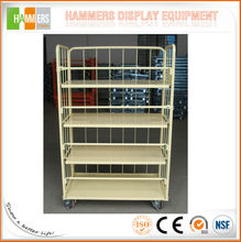 Removable Door Logistic Cart Roll Container