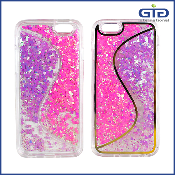[GGIT]Mobile Phone Accessories Beautiful Quicksand S TPU Case for iPhone 6