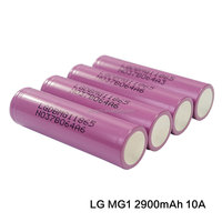 Wholesale Authentic LG 18650 MG1 3.7V 2900mAh Li-ion Rechargeable Batteries
