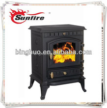 Modern Wood stove type multi fuel stove