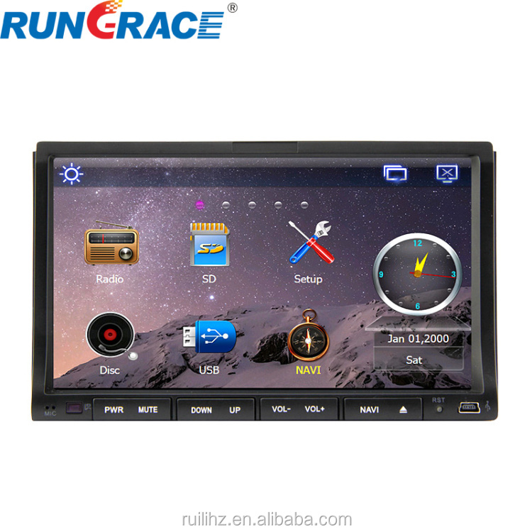 Top sale universal Double din waterproof car radio