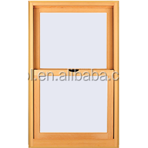 AFOL high quality aluminum clad wooden single hung window
