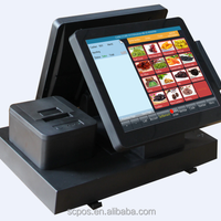 Double 12inch Touch Screen Retail Pos