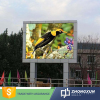 outdoor advertising billboard P10 SMD full color led display for sale