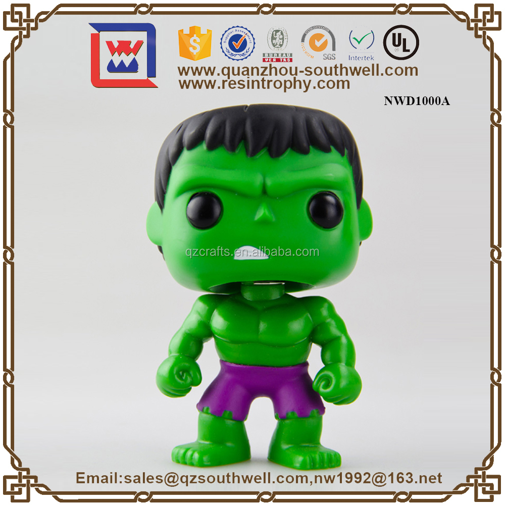 Custom Cartoon Funko Pop Shaking Bobble Head Doll Collectible Action Figures