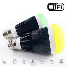 buy direct from China factory LED remote control WIFI bulb with 800LM