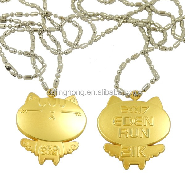 2017 EDEN Run Souvenir Fashion Cat Necklace