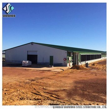 Design Prefabricated Steel Structure Commercial Layer Chicken House