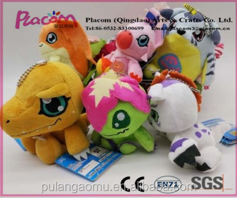 Original Cute High-quality Palmon Patamon Gabumon Agumon Gomamon Plush Toy Digimon Stuffed Doll for Promotion