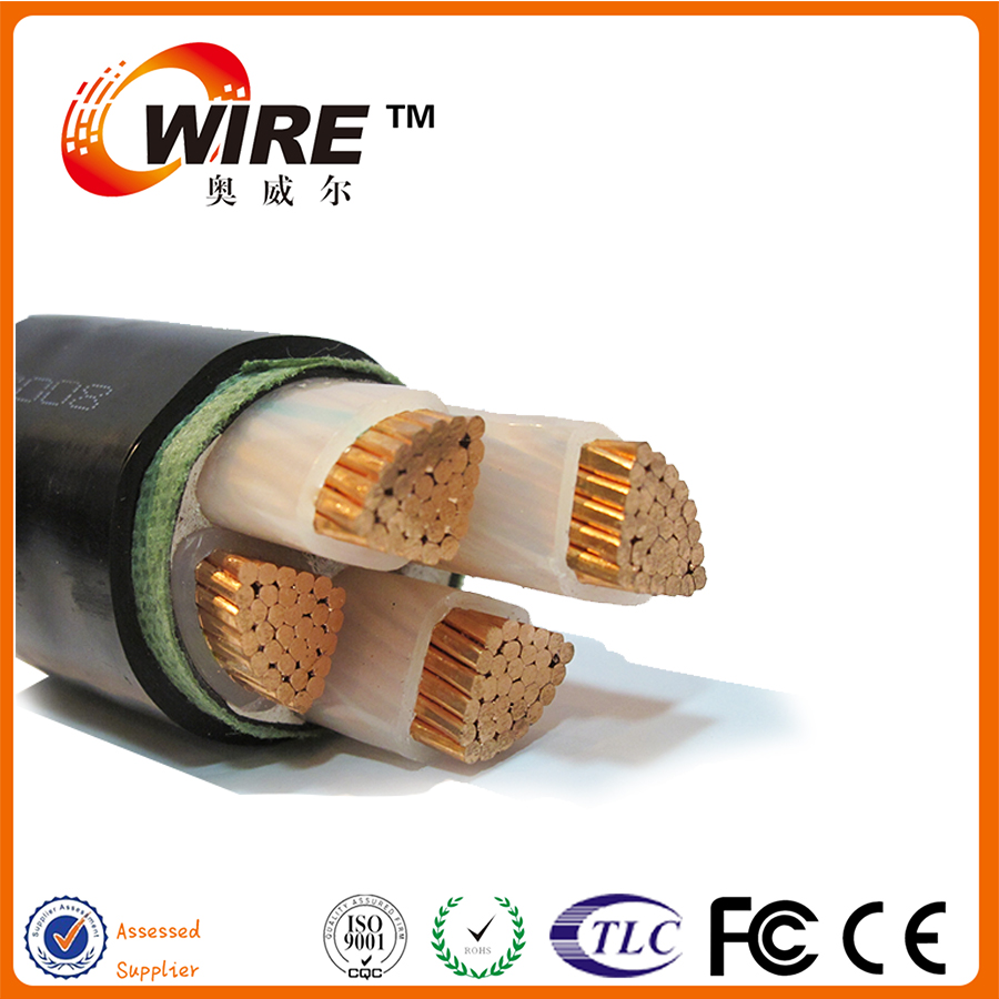 power cable wire 70mm2 armoured AL/XLPE 185mm aluminum Power cable